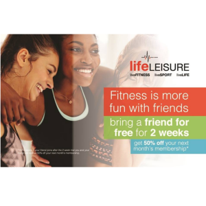 Referral Offer at Life Leisure
