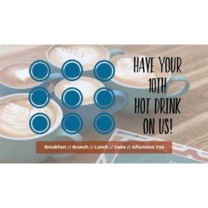 Have Your 10th Hot Drink On Us!