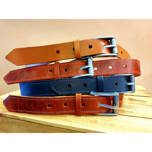 Handmade Leather Belts - lifetime guarantee