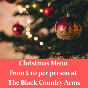 Christmas Menu from £10pp at The Black Country Arms