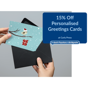 15% Off Personalised Greetings Cards