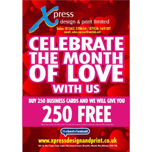 Valentine's Offer at Xpress Design & Print!