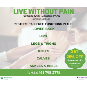 Get 25% OFF Fascial Manipulation