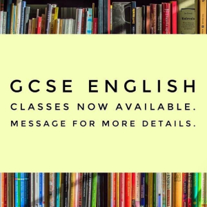 GCSE English Classes available at Maze Tuition