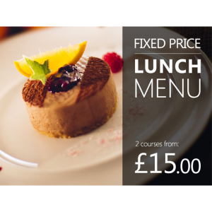 Fixed Price Special Lunch Offer