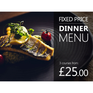 Fixed Price Dinner Restaurant Special Offer