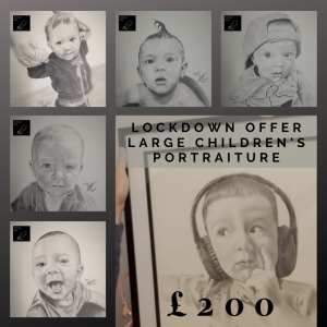 Premium Children's Portraiture just £200 at Portraits by David Davis