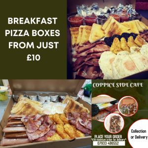 Full English Breakfast Pizza Boxes from just £10