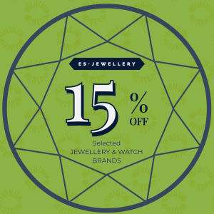 15% off with ES Jewellery