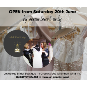 Say Yes to the Dress at Lovebirds Bridal Boutique