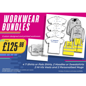 Workwear Bundles only £125 at SB Creative Design and Print