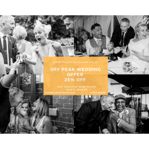 25% off - Off Peak Wedding Offer at Owen Strickland Magic