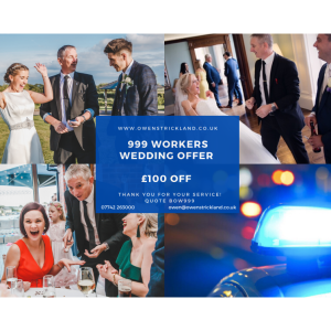 £100 OFF - Emergency Services Discount at Owen Strickland Magic