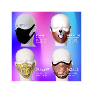 Custom Face Masks at Cut-Cost Prices!
