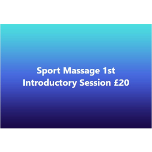 Introductory Massage session £20