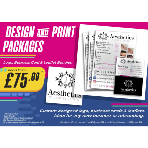 Design and Print Packages from £75 at SB Creative Design and Print