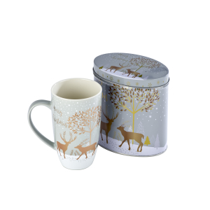 Buy Two for £10 - Christmas Mugs at Arthur Price Factory Shop