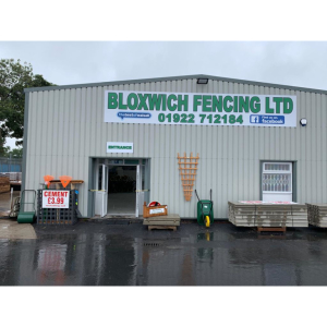 All panels and concrete at trade prices at Bloxwich Fencing!