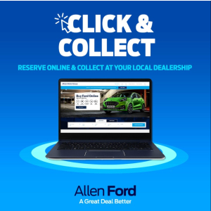 Click & Collect at Allen Ford