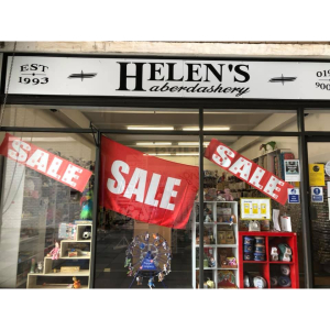 25% off sale at Helen's Haberdashery from 12th April!
