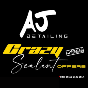 Crazy Sealant Offers Starting at £80 With AJ Detailing!