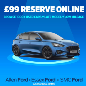 Reserve & Click and Collect at Allen Ford