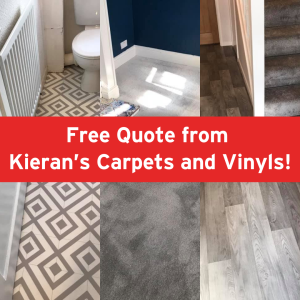 Free Quote from Kieran's Carpets and Vinyls!