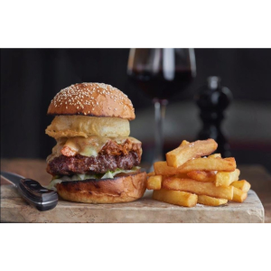 Burger Offer at The White Horse Old.