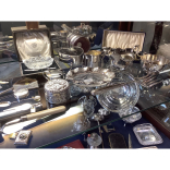 30% OFF Antique Table Silverware Collection