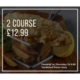 Enjoy a 2 Course Meal for £12.99 at The Swan, Braybrooke!