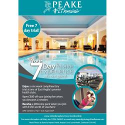 7 Day Trial At Peake Fitness