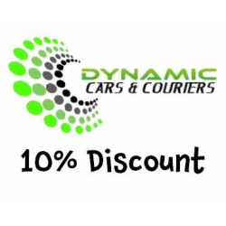10% Discount off your fare with Dynamic Cars