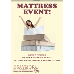 May is Mattress Month at Saymor!