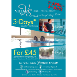 3 Days Couple Membership only £45!