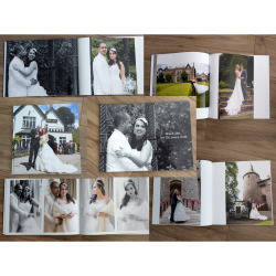 "Receive a free A4 or 12x12"" photobook with any Wedding Photography Package"