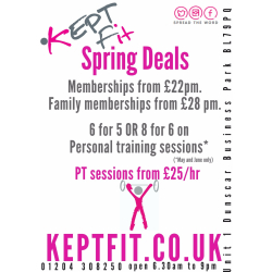 Amazing Spring Deals from KEPT Fit!