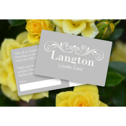 SAVE MONEY And 'Sign Up' For The New Langton Loyalty Card!