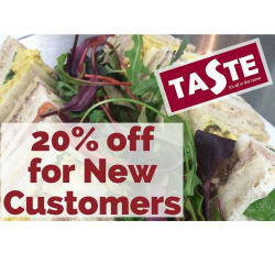 20% discount for NEW Corporate Customers