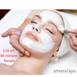 60 minutes facial treatment for £15