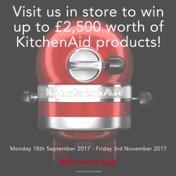 Win £2500 worth of KitchenAid Products