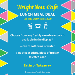 Lunch Meal Deal -  £4.50 Only