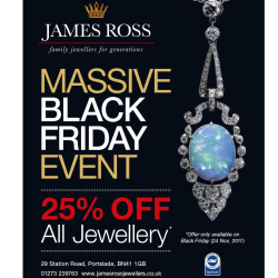 Special Black Friday Offer at James Ross Jewellers!