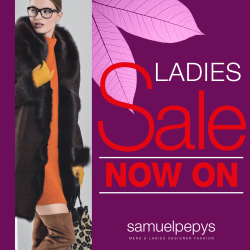 SAMUEL PEPYS LADIES SALE