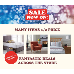 Our Great WINTER SALE Continues But It Must End Soon!