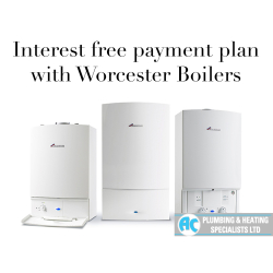 Buy a new Worcester Boiler Interest Free