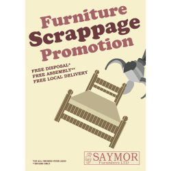 Our popular 'Furniture Scrappage' Service Offer is starting again in September!
