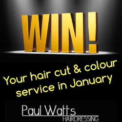 WIN Your Hair Cut And Colour Service!
