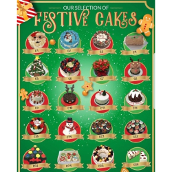 Festive Cakes Available at Cake Shop