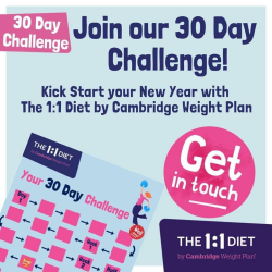 Free Mobile Visits at Home or Work with The 1:1 Diet by Cambridge Weight Plan - Claire Harbun