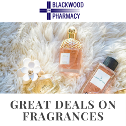 Up to 25% off Fine Fragrances from Famous Brands at Blackwood Pharmacy!